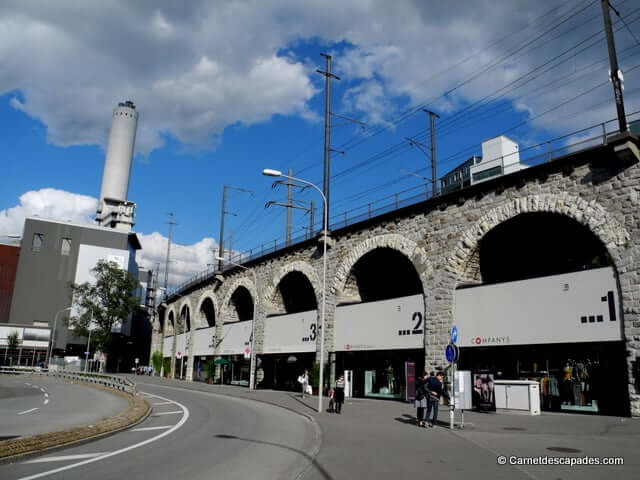 Zurich west-Viadukt