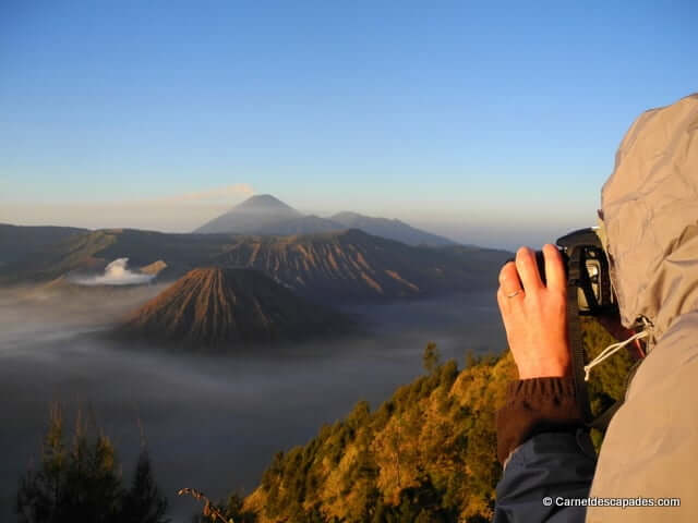 Le fascinant spectacle du Bromo, Java