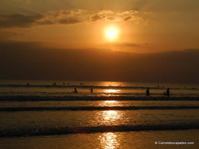 coucher de soleil-kuta-bali