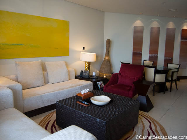 Salon-appartement-The Address Downtown-hotel