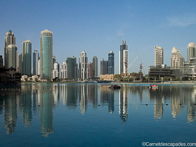 Visiter Dubaï le temps d'un long week-end