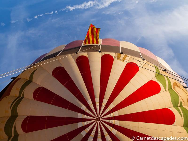 Survoler la Garrotxa – Mon premier vol en montgolfière