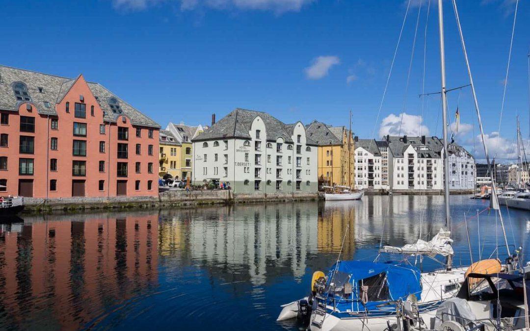 Visite d'Alesund, capitale de l'Art Nouveau en Norvège