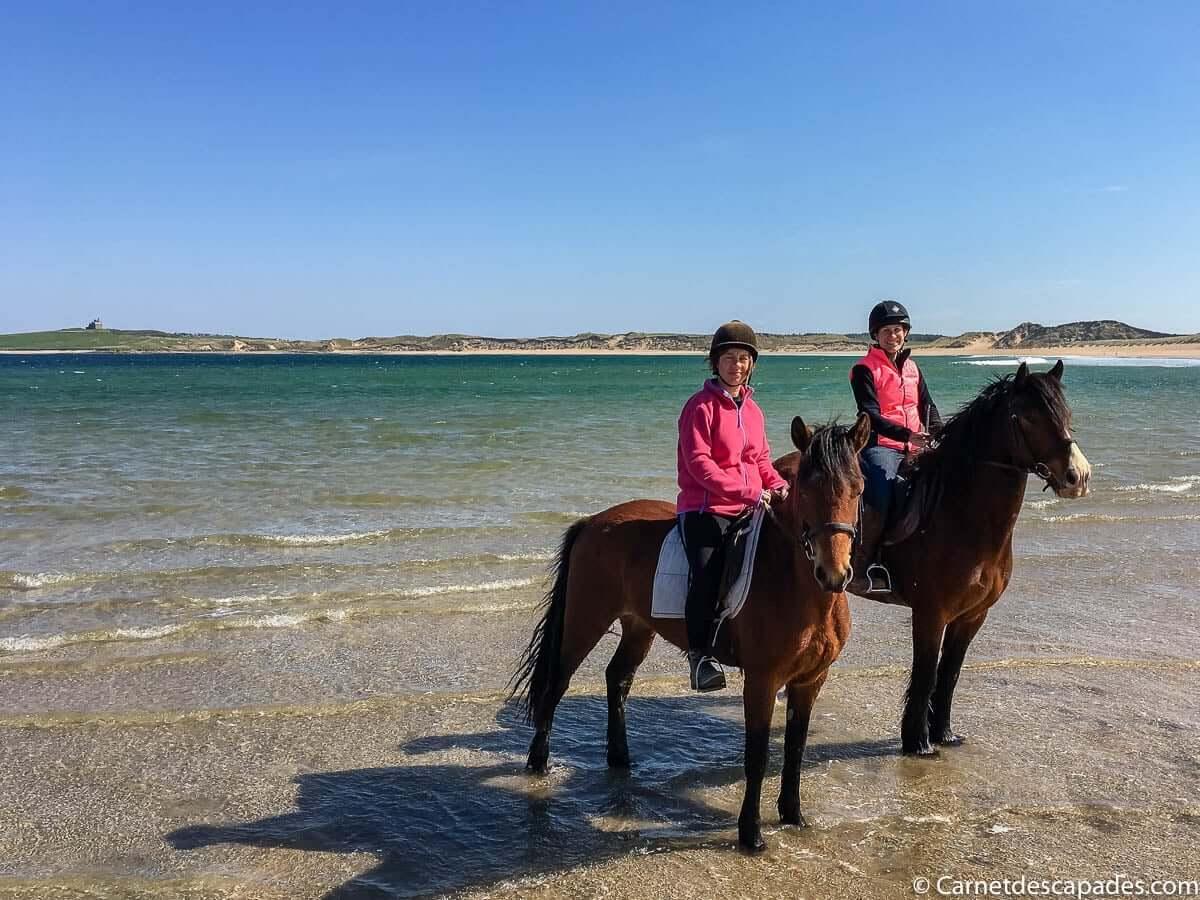 balade cheval irlande