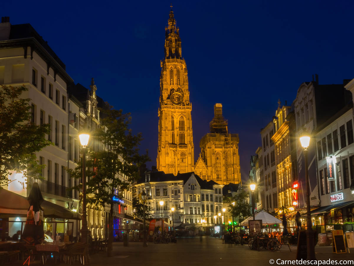 cathedrale-anvers-nuit