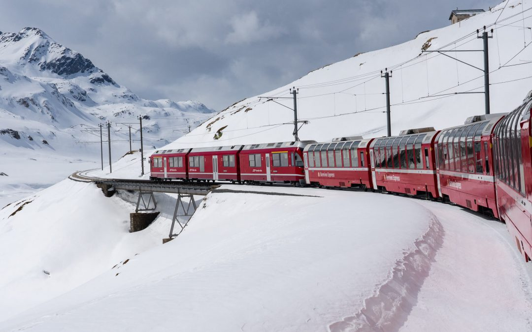 Bernina Express, LE train panoramique suisse à ne pas manquer!