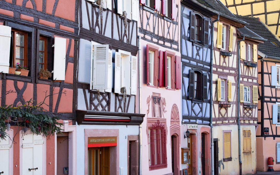 Week-end en Alsace sans voiture: Strasbourg, Colmar et Obernai