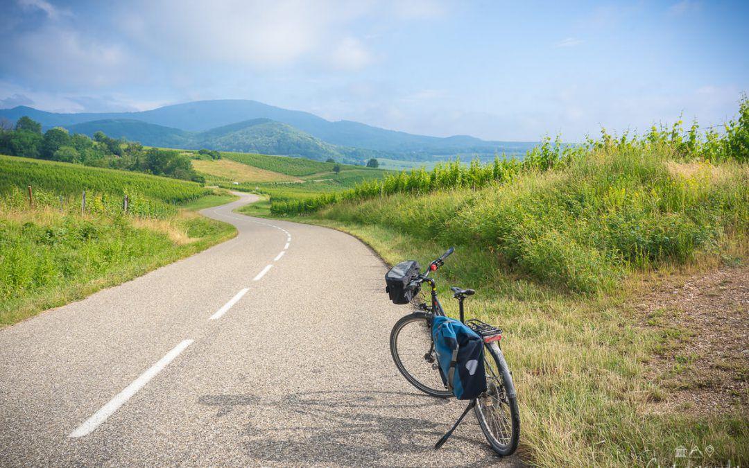 3 jours à vélo en Alsace entre Rosheim, Obernai et Barr